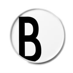 hoi!好好生活 Design Letters 字母骨瓷平盤 B