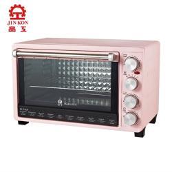 JINKON 晶工牌 30L雙溫控旋風電烤箱 JK-7318-庫