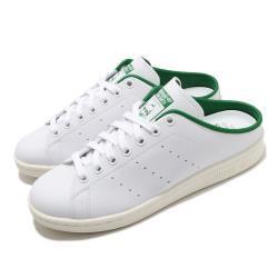 adidas 休閒鞋 Stan Smith Mule 男女鞋 愛迪達 三葉草 穆勒鞋 方便 情侶鞋 白 綠 FX5849 [ACS 跨運動]