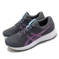 Asics 慢跑鞋 Patriot 12 運動休閒 女鞋 亞瑟士 入門 輕量 緩衝 基本款 灰 紫 1012A705023 [ACS 跨運動]