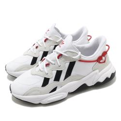 adidas 休閒鞋 Ozweego 愛心 男鞋 愛迪達 三葉草 流行款 穿搭推薦 白 黑 紅 FZ1825 [ACS 跨運動]