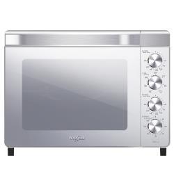 買就送~Whirlpool惠而浦 32L不鏽鋼雙溫控旋風烤箱WTOM321S贈食譜