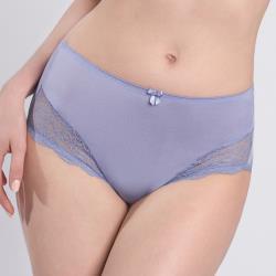 黛安芬-美型嚴選系列 包臀高腰三角內褲 M-L 紫藕色