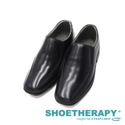 SAPATOTERAPIA 巴西簡約素面直套皮鞋男鞋-黑
