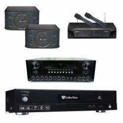金嗓 CPX-900 F1 點歌機4TB+AUSKA AK-868+CHIAYO NDR-2120+AUSKA SP-899
