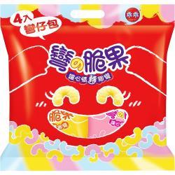 【乖乖】乖乖彎四入仔包52g(煉乳/草莓共4入)