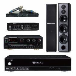 金嗓 CPX-900 A5伴唱機 4TB+OKAUDIO AK-7+MIPRO MR-865 PRO+TDF M-6+FBC-9900