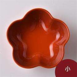 Le Creuset 花型盤 小 火紅辣椒