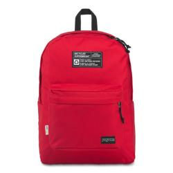 JanSport 環保材質校園背包(RECYCLED SUPERBREAK)-紅