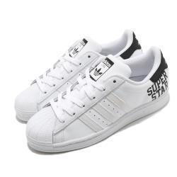 adidas 休閒鞋 Superstar 復古 低筒 女鞋 海外限定 愛迪達 三葉草 貝殼頭 皮革 白 黑 FV3739 [ACS 跨運動]