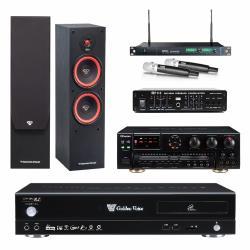 金嗓 CPX-900 R2伴唱機 4TB+OKAUDIO AK-7+MIPRO ACT-869+SL-28+FBC-9900