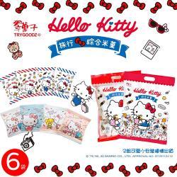 翠菓子xHello Kitty 跨界聯名 旅行綜合米菓-6袋