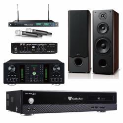 金嗓 CPX-900 A3伴唱機 4TB+OKAUDIO DB-7A+MIPRO ACT-869+OK-801 II+FBC-9900