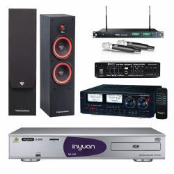 音圓 S-2001 N2-120伴唱機4TB+Audioking HD-1000+MIPRO ACT-869+SL-28+FBC-9900