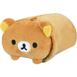 拉拉熊懶懶熊小毛毯午睡毯冷氣毯空調毯70x85公分 579161【卡通小物】