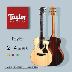 【Taylor 泰勒】Taylor 200系列 吉他附原廠琴盒-公司貨保固 (214CE-PLUS)