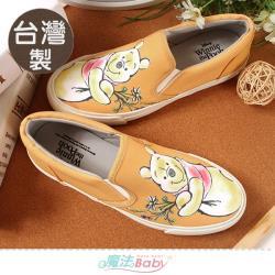 魔法Baby 女鞋 台灣製迪士尼小熊維尼正版新潮帆布鞋~sd3146