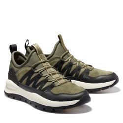 Timberland 男款軍綠色Boroughs Project絨面革休閒鞋A24SVA58