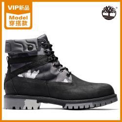 Timberland 男款黑色迷彩全粒面皮革6吋靴A29P7001