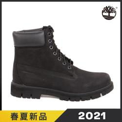 Timberland 男款黑色絨面Radford 6吋防水靴A1JI2001