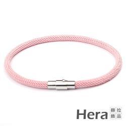 Hera 赫拉  韓版潮流簡約運動男女編織磁扣手鍊/手繩-4色