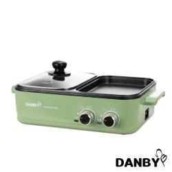 DANBY 丹比 DB-1BHP 雙溫控火烤兩用輕食鍋   煎/烤/煮/炒/涮 一機多用