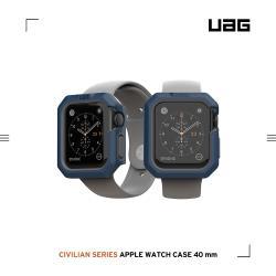 UAG Apple Watch 40mm 耐衝擊簡約保護殼-藍