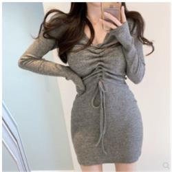 針織連衣裙