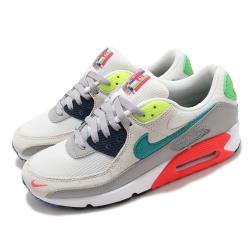 Nike 休閒鞋 Air Max 90 SE 運動 男鞋 氣墊 舒適 避震 簡約 球鞋 穿搭 灰 綠 DA5562001 [ACS 跨運動]
