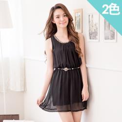iima 法式名媛背心洋裝(2色)