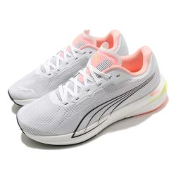 Puma 慢跑鞋 Velocity Nitro 運動 女鞋 輕量 透氣 舒適 避震 路跑 健身 白 粉 19569705 19569705
