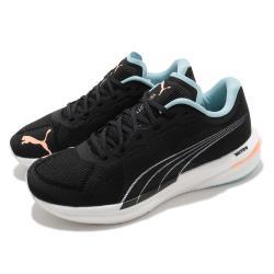 Puma 慢跑鞋 Velocity Nitro 運動 女鞋 輕量 透氣 舒適 避震 路跑 健身 黑 粉 19569712 19569712