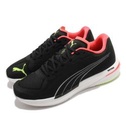 Puma 慢跑鞋 Velocity Nitro 運動 男鞋 輕量 透氣 舒適 避震 路跑 健身 黑 黃 19459612 19459612