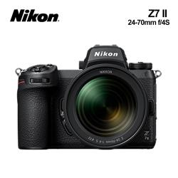 Nikon尼康 Z7II KIT 24-70mm f/4 S 全幅單眼相機 (國祥公司貨)