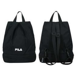 FILA 乾濕分離後背包-防潑水 斜背包 雙肩包 肩背包