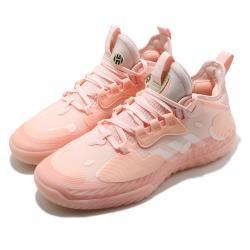 adidas 籃球鞋 Harden Vol5 運動鞋 男鞋 愛迪達 NBA球星 哈登 Boost 緩震 粉白 FZ0834 [ACS 跨運動]