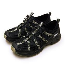 【DIADORA】男 迪亞多那 多功能排水戶外水陸運動涉水鞋 野地探索系列(黑迷彩 73138)