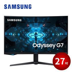 SAMSUNG三星 C27G75TQSC 27型VA曲面2K解析度240Hz電競液晶螢幕