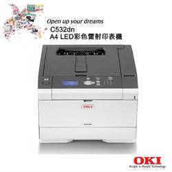 OKI/C532_LED A4彩色雷射印表機