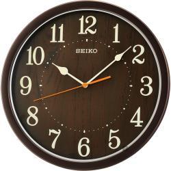 SEIKO精工 歐風時尚 滑動式秒針靜音掛鐘-31cm QXA718B