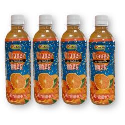 小美冰團 柳橙果粒綜合果汁飲料 x24罐/箱(500ml/罐)
