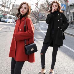 【韓國K.W.】(現貨)純真之戀毛呢外套