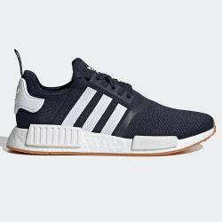 【現貨】Adidas NMD_R1 男鞋 女鞋 慢跑 休閒 BOOST 襪套 藍【運動世界】G55574