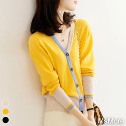 【MsMore】珍珠奶茶蜜佳人針織外套#108590現貨+預購(3色)