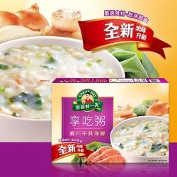 【得意的一天】蝦仁干貝海鮮享吃粥(40gx4包)