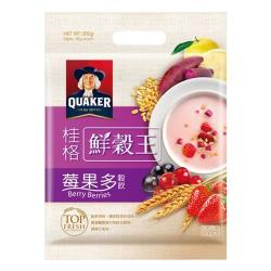 【QUAKER 桂格】鮮穀王-莓果多30g*10入