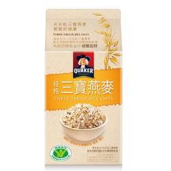 【QUAKER 桂格】三寶燕麥1800g/盒