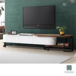 【Hampton 漢汀堡】勒魯瓦6尺伸縮電視櫃