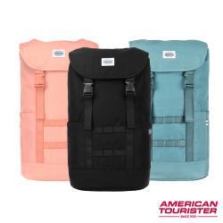 AT美國旅行者 Colton S 防潑水潮流筆電後背包 13 (三色可選)