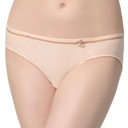 思薇爾 竹物語樂活風系列M-XL低腰三角內褲(雲粉膚)